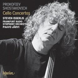 Cello Concertos by Prokofiev ,   Shostakovich ;   Steven Isserlis ,   Frankfurt Radio Symphony Orchestra ,   Paavo Järvi