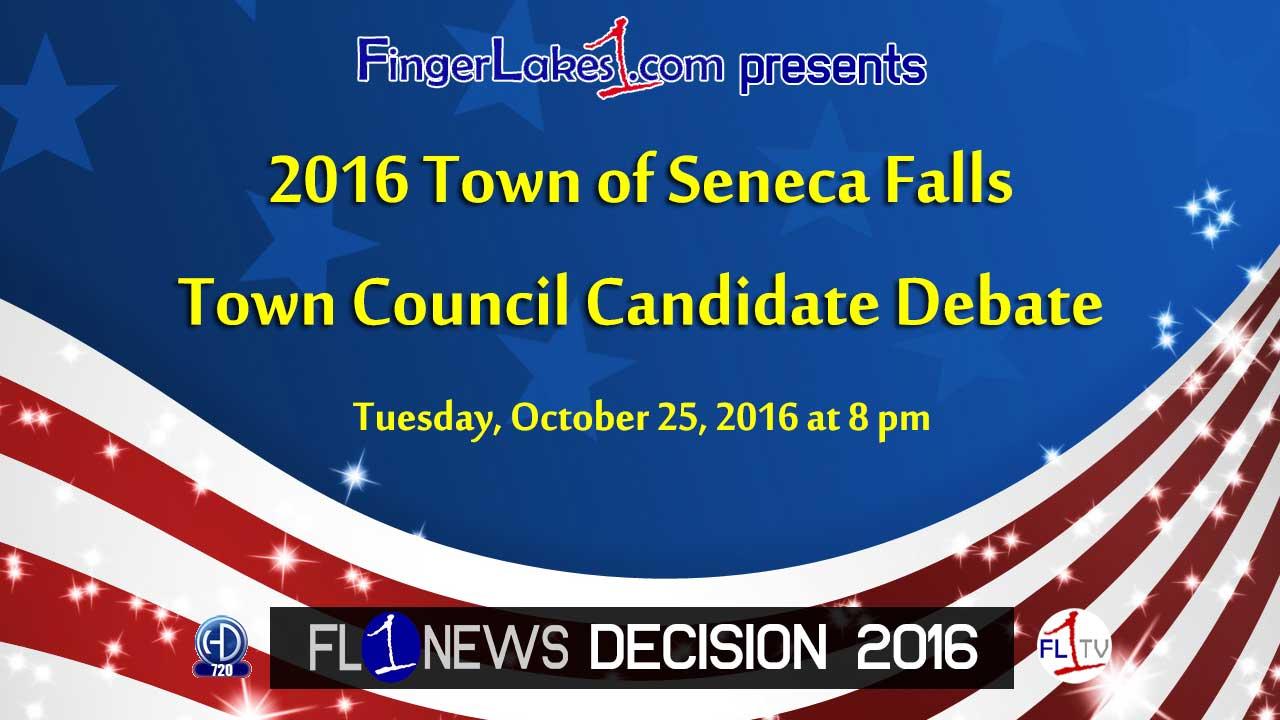 Seneca Falls Town Council Debate: Candidates meet to talk issues